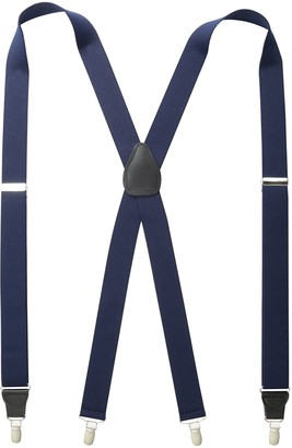 Stacy Adams Men's Big and Tall Extra Long Clip On Suspenders