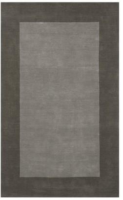 Pottery Barn Henley Handwoven Wool Rug - Gray