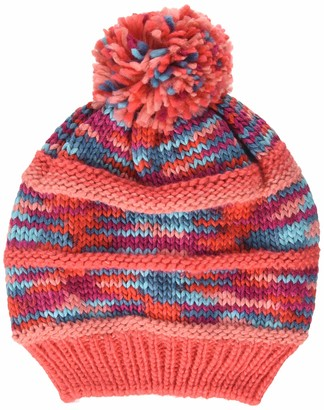 Color Kids Girl's Strickmutze Mit Zweig Hat