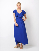 George Frill Maxi Dress