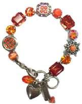 Mariana Orange Swarovski Bracelet