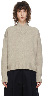 Studio Nicholson SSENSE Exclusive Tan Kelvin Sweater