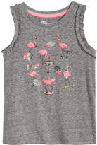 Epic Threads Little Girls Graphic-Print Ruffle-Sleeve Tank Top, Created for Macy's