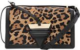 Loewe Barcelona leopard-print leather shoulder bag