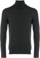 Zanone roll-neck fitted sweater