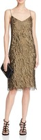 Lauren Ralph Lauren Metallic Lace Slip Dress - 100% Bloomingdale's Exclusive