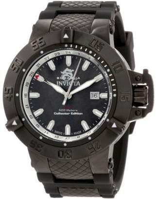 Invicta Men's 0736 Subaqua Quartz Gmt Black Dial Watch