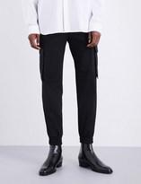 Juun.J JUUN J Patch-pocket tapered wool trousers