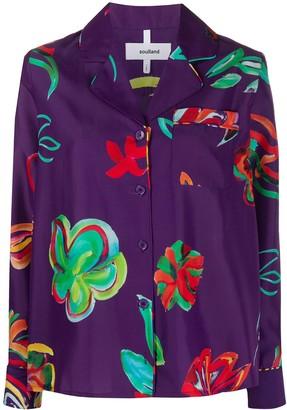 Soulland Wendy floral-print shirt