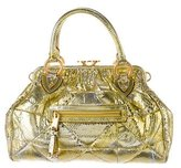 Marc by Marc Jacobs Quilted Python Stam Bag