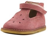 Elephantito T-bar Toddler Round Toe Suede Pink Bootie.
