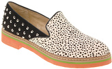 Chinese Laundry Dalmation Studded Café Marmont Calf Hair Slip-On Shoe