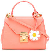 Mark Cross daisy tag padlock bag