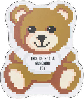 Moschino Teddy Bear Pixel Clutch Bag