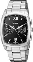 Fossil Men's 'Knox Dual Time' Quartz Stainless Steel Casual Watch, Color:-Toned (Model: FS5358)