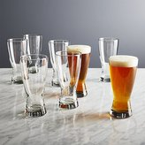 Crate & Barrel Boxed Beer Glasses, Set of 8