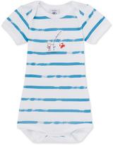 Petit Bateau Baby boys print bodysuit