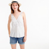J.Crew Collection embroidered summer top