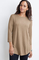 J. Jill Crew-Neck Seamed Tunic