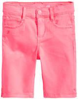 Celebrity Pink Twill Bermuda Shorts, Little Girls