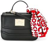 Love Moschino scarf detail tote
