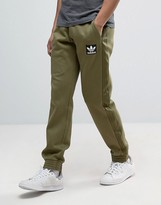 Adidas Originals Brand Pack Joggers In Green Ay9303