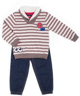 Little Lass 3-pc. Sweater Pant Set Baby Boys