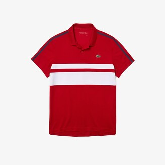 Lacoste Mens SPORT Breathable Pique Tennis Polo Shirt