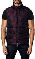 Jared Lang Printed Puffer Vest