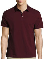 Claiborne Short-Sleeve Slim-Fit Polo