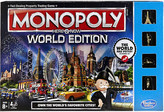BOARD GAMES Monopoly Here & Now World Edition board game