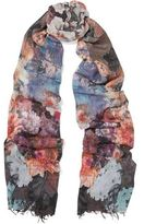 Lily & Lionel Gloria Printed Modal And Cashmere-Blend Scarf