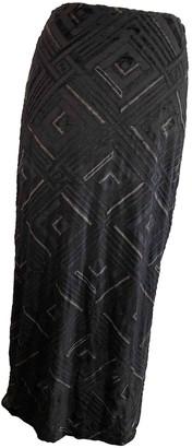 Fendi Black Viscose Skirts