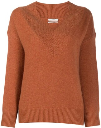 Co V-neck cashmere knit jumper