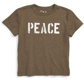 Chaser Toddler Boy's Peace Graphic T-Shirt