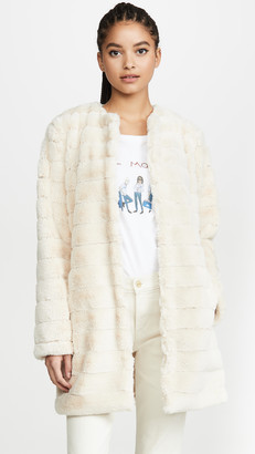 BB Dakota Anything For You Faux Fur Jacket