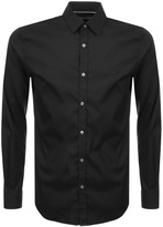 Lacoste Long Sleeved Slim Fit Shirt Black