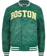 River Island Green Schott 'boston' Bomber Jacket