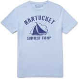 Hartford - Printed Slub Cotton-jersey T-shirt