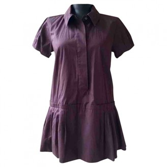 Louis Vuitton Purple Cotton Dresses