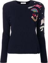 Valentino patch jumper