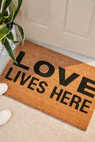 Urban Outfitters Love Lives Here Doormat