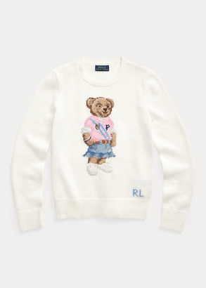 Ralph Lauren Spring Bear Cotton Sweater