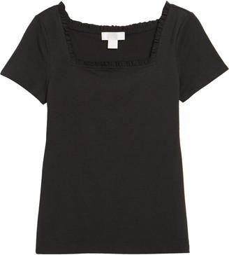 Rachel Parcell Square Neck T-Shirt