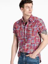 Lucky Brand Patchwork Western Shirt