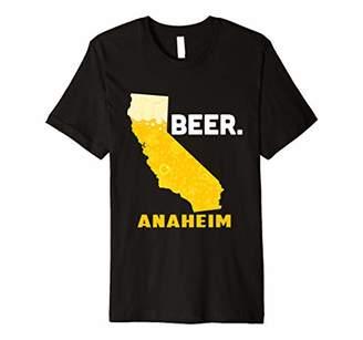 State CA California Drinking Home Love Beer Anaheim City Premium T-Shirt