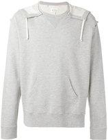 Maison Margiela oversize hooded sweatshirt - men - Cotton - 48