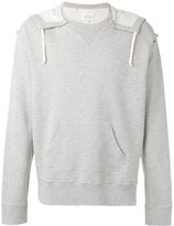 Maison Margiela oversize hooded sweatshirt