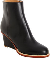 Maison Martin Margiela Trimmed Wedge Ankle Boot