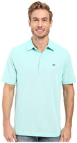 Vineyard Vines Marshall Solid Pique Performance Polo